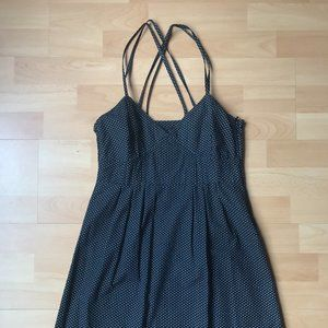 Black Polka Dot Summer Dress